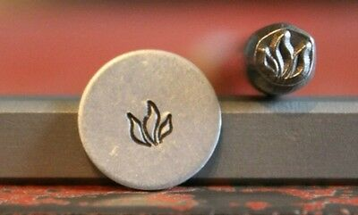 SUPPLY GUY 5mm Indian Fire Flame Metal Punch Design Stamp SGM48, Made in the USA