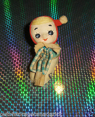 Vintage Christmas Pin Cushion Rare Have A Look Very Good Condition Tape Works