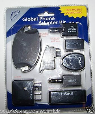 Global Phone Adapter Kit Great Phone Adapter Kit For Travelers New In Package