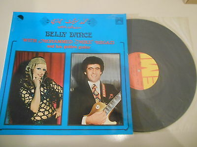 LP Ethno Mohammed Hegazi -  Belly Dance (8 Song) EMI GREECE / VOIX DE L'ORIENT