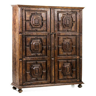 16th C Portuguese Late Renaissance Walnut Armoire