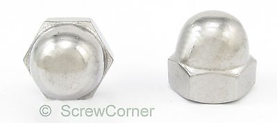 Hutmutter 10-32 UNF A2 Edelstahl - Acorn (Dome) Nut 10-32 UNF A2 Stainless Steel