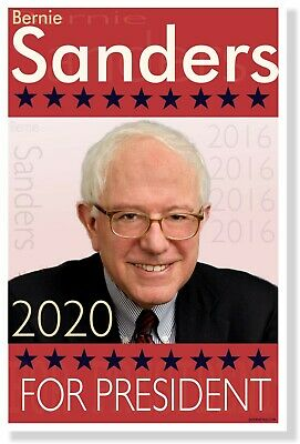 Bernie Sanders for President 2020 - NEW USA American Political Election POSTER