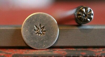 SUPPLY GUY 5mm Cannabis Metal Punch Design Stamp SGU-30, Made in the USA