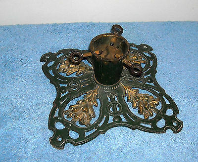 1890 German Antique Cast Iron Christmas Tree Holder