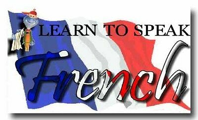 LEARN HOW TO SPEAK FRENCH LANGUAGE TRAINING COURSE 2 DVD SET Complete Tutorial