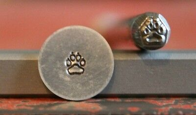 SUPPLY GUY 5mm Paw with Claws Metal Punch Design Stamp SGM-54, Made in the USA