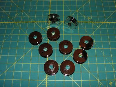 Pfaff 1 Piece Metal Bobbins Part# 9033        ***10 Pack***