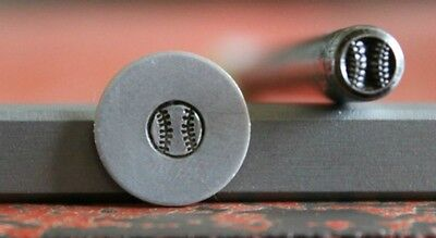 SUPPLY GUY 5mm Baseball Metal Punch Design Stamp SGWM-15, Made in the USA
