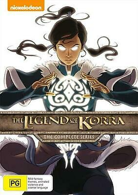 The Legend Of Korra: Book 1-4 | Boxset - DVD Region 4 Free Shipping!