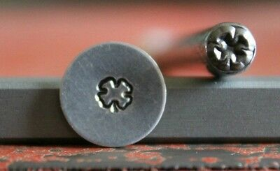SUPPLY GUY 5mm Shamrock Metal Punch Design Stamp SGWM-8, Made in the USA