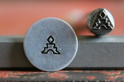 SUPPLY GUY 5mm Temple Metal Punch Design Stamp SGT-13, Made in the USA