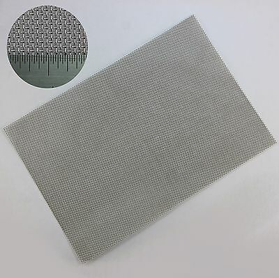 Rodent Mesh - Stainless Steel Woven Wire Mesh - A4 Sheet (210 x 300mm)