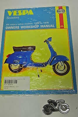 Haynes Vespa Scooters Owners Workshop Manual 1959-1978