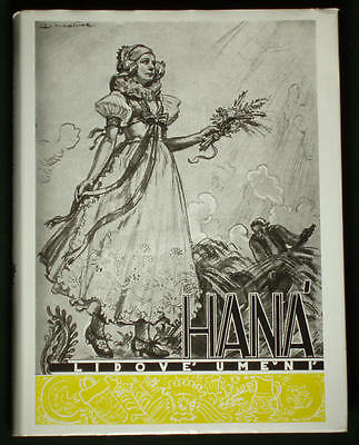 RARE BOOK Czech Folk Art HANA costume embroidery KROJ old architecture sculpture