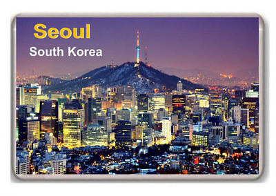 South Korea Seoul fridge magnet