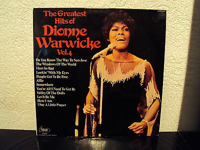 DIONNE WARWICKE - Greatest hits Vol. 4