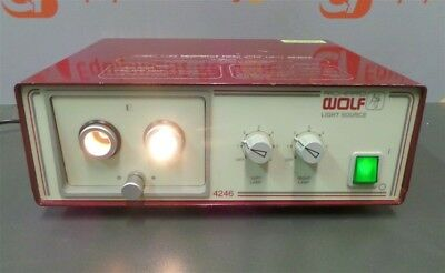Richard Wolf 4246 Dual Port Light Source Electrosurgical Fiber Optic Generator