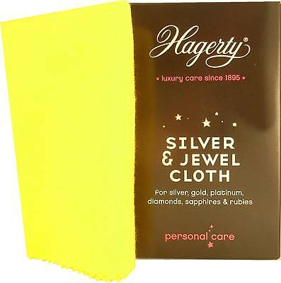 Hagerty Silver Gold & Jewels Cleaning Silver Cloth