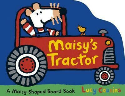 Maisy's Tractor by Lucy Cousins (English) Board Books Book Free Shipping!