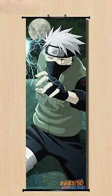 Naruto Mannga Kakashi Home Decal Japanese Anime Poster Wall Scroll