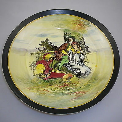 LARGE Royal Doulton Series Ware SHAKESPEARE PLAYS  Plate