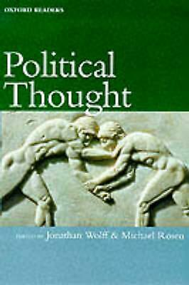 Political Thought by Jonathan Wolff (English) Paperback Book Free Shipping!