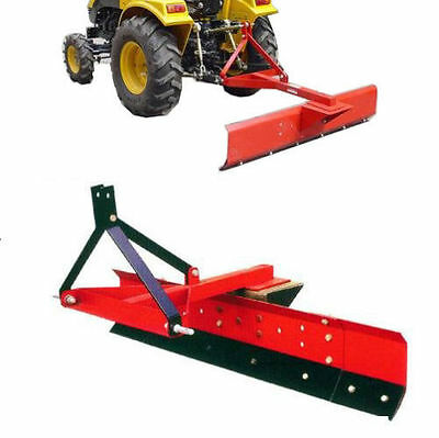 4Ft Tractor Grader Blade Cat 1, 3 Point Linkage 1200Mm -New