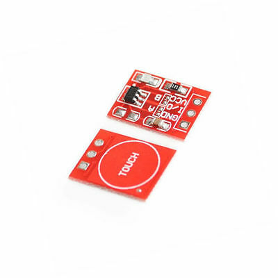 2PCS NEW TTP223 Capacitive Touch Switch Button Self-Lock Module for Arduino