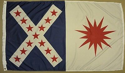 Rappahannock Cavalry Virginia VA Indoor Outdoor Historical Dyed Nylon Flag 3X5'