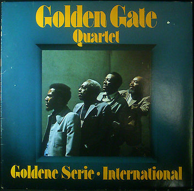 LP GOLDEN GATE QUARTET - goldene serie international