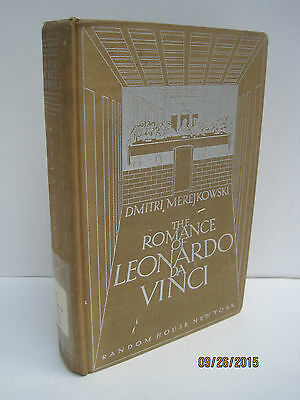 The Romance of Leonardo Da Vinci by Dmitri Merejkowski