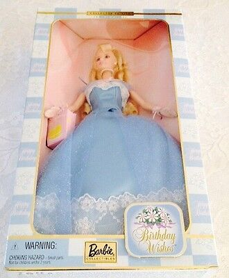 NRFB NIB BIRTHDAY WISHES BARBIE DOLL COLLECTOR THIRD IN SERIES Mattel