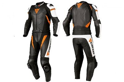 Racing Dainese Replica Avro 2 Piece Motorcycle|Motorbike Leather Suit
