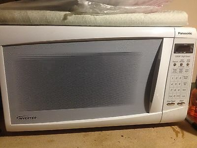 Panasonic inverter microwave; toaster for free with purchase of this microwave