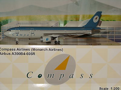 JC Wings 200 Compass Airlines A300 1/200 **Free S&H**