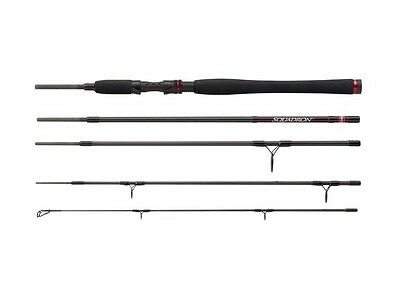Penn Squadron SW Travel Spinn / 5-piece / saltwater spinning rods Cañas
