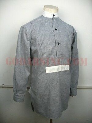 WWI 1st Australian Imperial Force Grey Flannel Service Shirt S