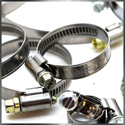 22-35 mm Heavy Duty Stainless Steel Hose Clamps High Quality Pipe Tube Clips 637