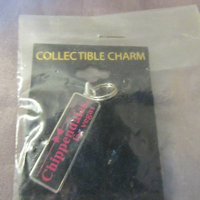 Chippendales Las Vegas Collectible Charm Pink And Black.