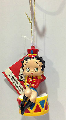 Betty Boop Decorazione Per Albero Natale Christmas Ornament Plastica Majorette