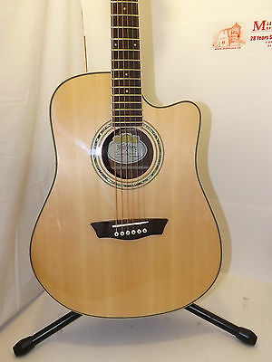 Washburn WCD18CE Acoustic/Electric Guitar Comfort Series MSRP $649.00