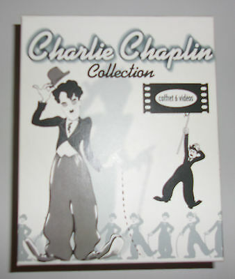 Coffret 6 K7 Video Vhs Charlie Chaplin