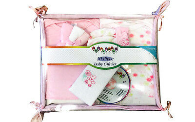 Baby Set 10 Piece Gift Cd Included Boy and Girls New baby born CLEARANCE 11543