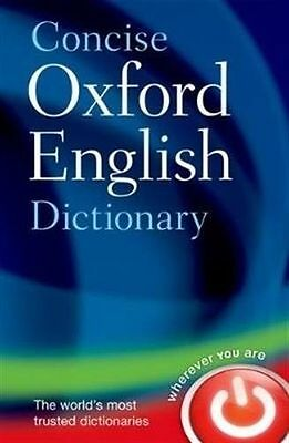 NEW - Concise Oxford English Dictionary: Main edition (Hardback) ISBN0199601089