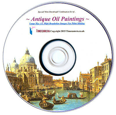 Make SUPER-SIZED Famous Paintings Prints - Restored, Hi-Resolution Big A3 Images