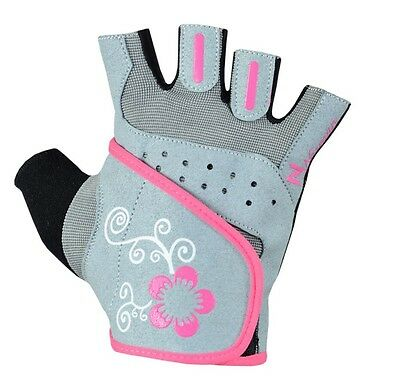 Ladies Gel Gloves Fitness Gym Wear Weight Lifting Workout Training Cycling Women