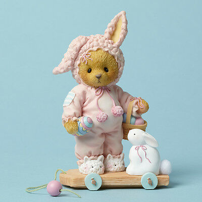 CHERISHED TEDDIES Bear Figure Rabbit Bunny 4044690 THE HUNT FOR A HAPPY EASTER