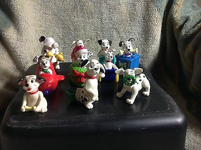Disney 101 Dalmations Figures Cake Toppers McDonalds Toy Lot Of 10