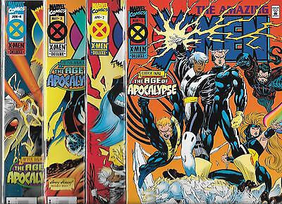 The Amazing X-Men #1-#4 Set (Nm-) After Xavier The Age Of Apocalypse
